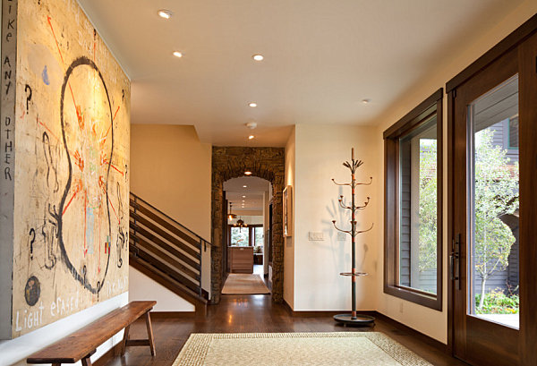 Entryway decor ideas for your home for House plans with foyer entrance