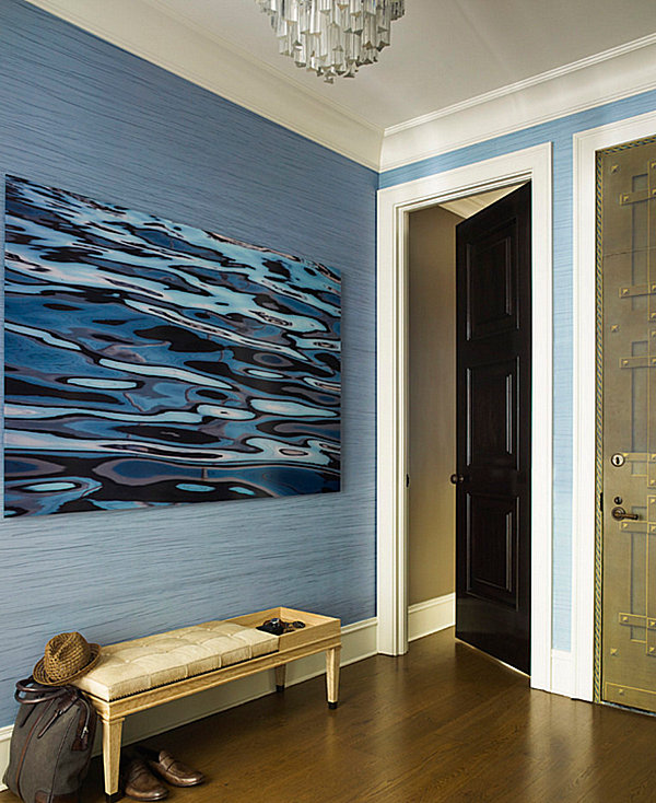 Lovely Entrance Decor Ideas For Home Part - 2: View In Gallery Modern Glam Entryway