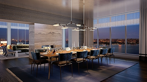 Luxury Waterfront Condominium With Expansive Views Of Nyc
