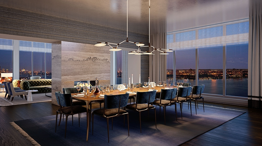 13 Stunning Apartments In New York: Luxury Waterfront Condominium With Expansive Views Of NYC