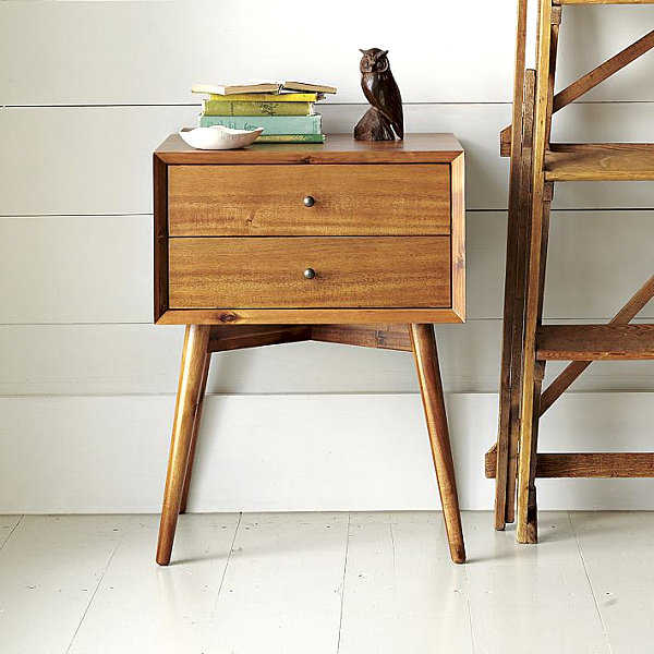 New nightstand with Mid-Century Modern style