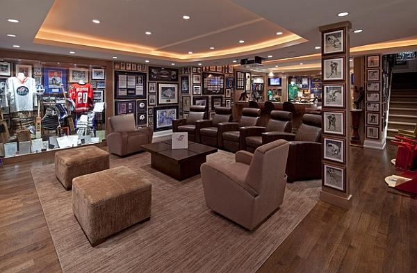 Now this is what we call passion for sports memorabilia
