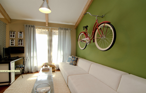 Peg Wall Bike Mount