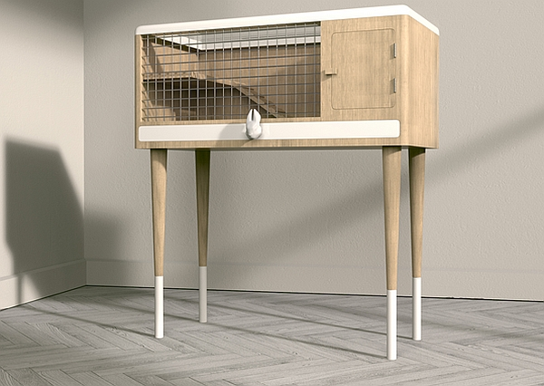 Pet cage for modern home