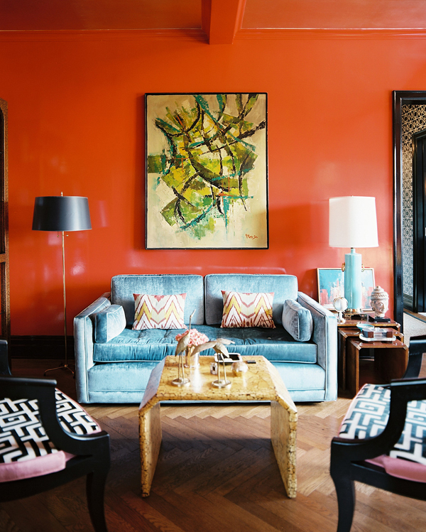 Stylish paint colors and ideas for your living room Paint colors for calming effect