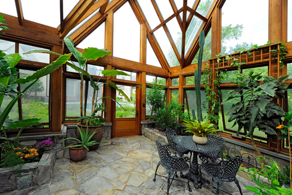 10 gorgeous greenhouses to get you excited for spring for Wooden studios for gardens