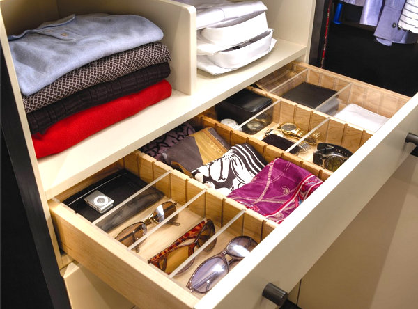 View in gallery Scarves in a drawer