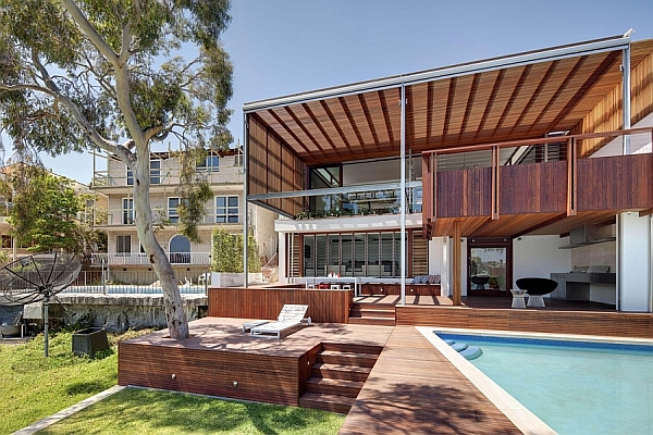 Gorgeous Multi-Level Family House In Sydney Charms With Its Use Of Wood