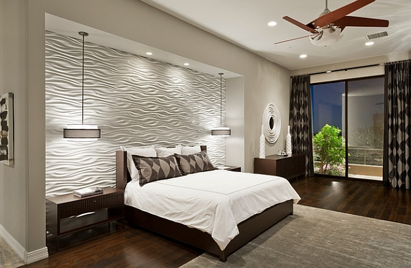 view in gallery textured wall tiles draw your attention instantly - Bedroom Wall Textures