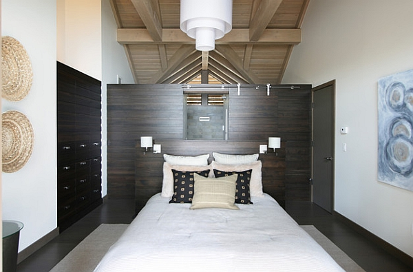 Timber frame wall offers the perfect backdrop