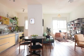 Ingenious Apartment In Tel Aviv Adopts A Trendy Vintage Style!