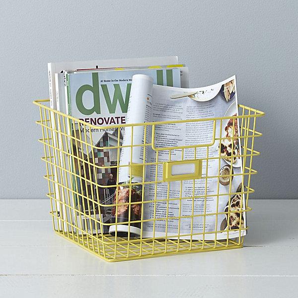 Wire storage bin