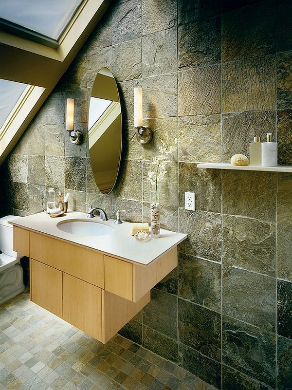 asian bathroom inspiration - bathroom tiles