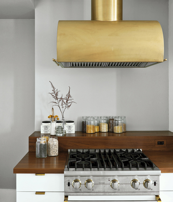 brass hood range Brass Hardware And Fixtures Are Back!