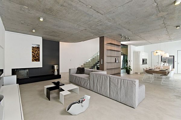 Concrete In Interior Design the sheer beauty of concrete walls