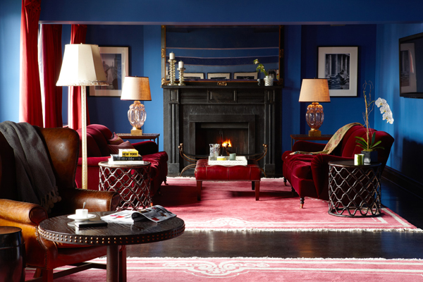 Blue Color Living Room stylish paint colors and ideas for your living room