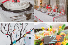 Unique Wedding Table Linens for a Festive Celebration