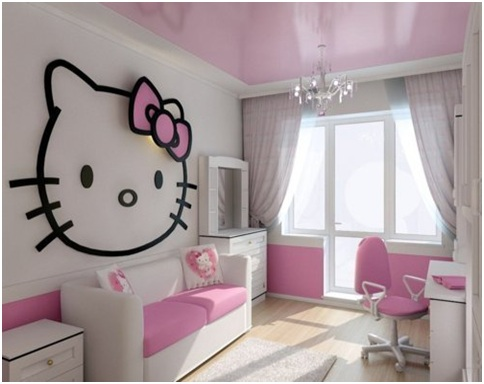 View In Gallery Hello Kitty Room Decor1