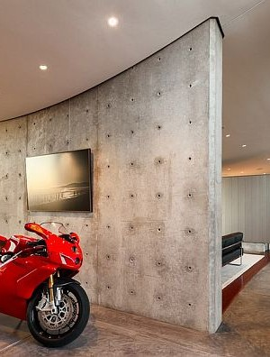 home concrete walls