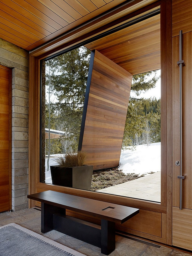 huge windows – mountain house