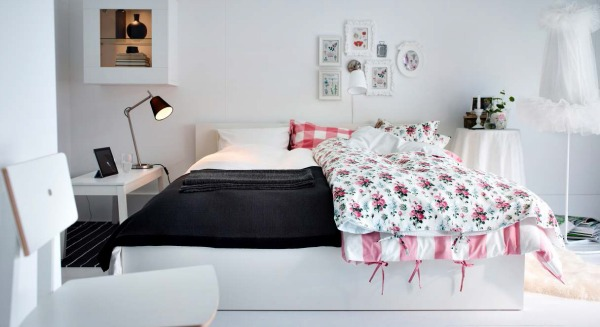 his and hers ikea bedroom