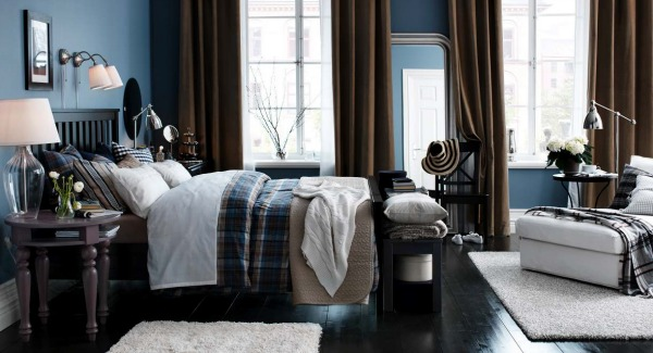 Dark and Moody Bedrooms. 10 IKEA Bedrooms You d Actually Want To Sleep In