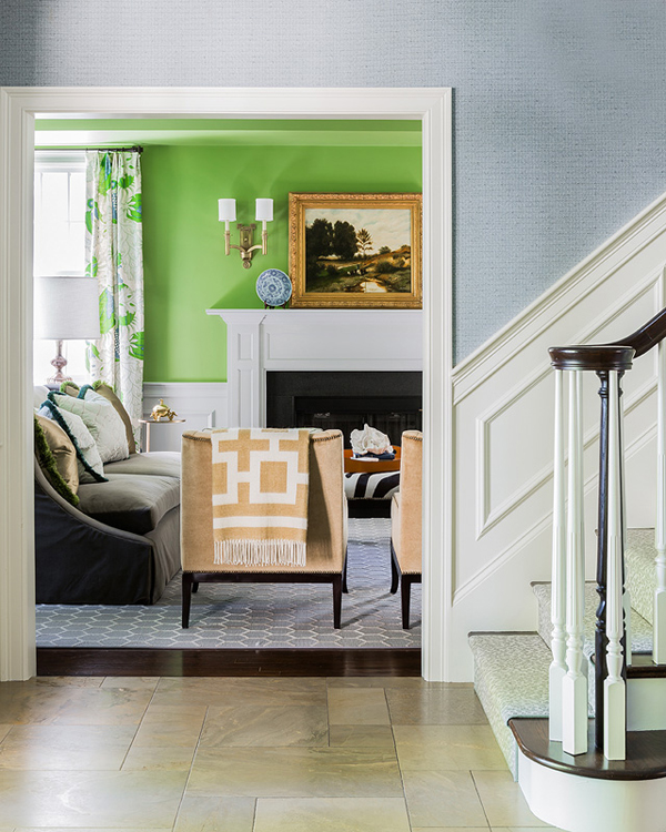 Stylish paint colors and ideas for your living room - Peinture lumineuse pour salon ...
