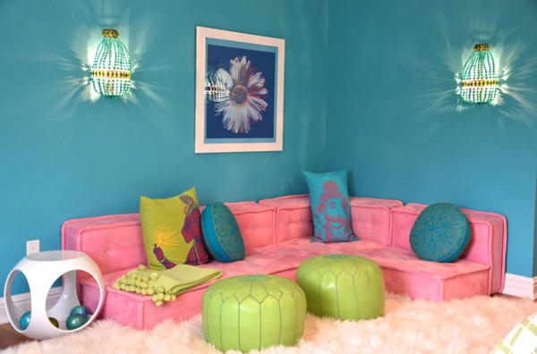 modern girls room lounge