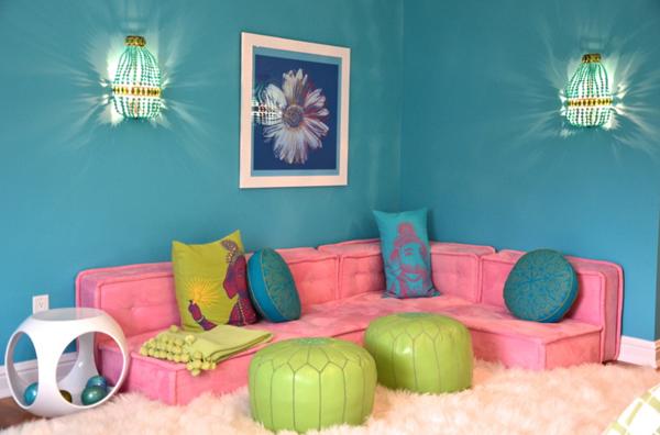 modern girls room lounge