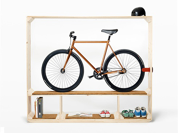 postfossil storage system Stylish Bike Storage Ideas For Your Home Or Garage