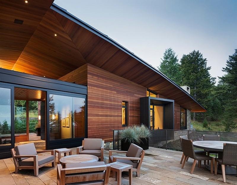 stunning deck - modern residence