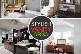 Stylish Vanity Desks For Any Modern-Day Marie Antoinette