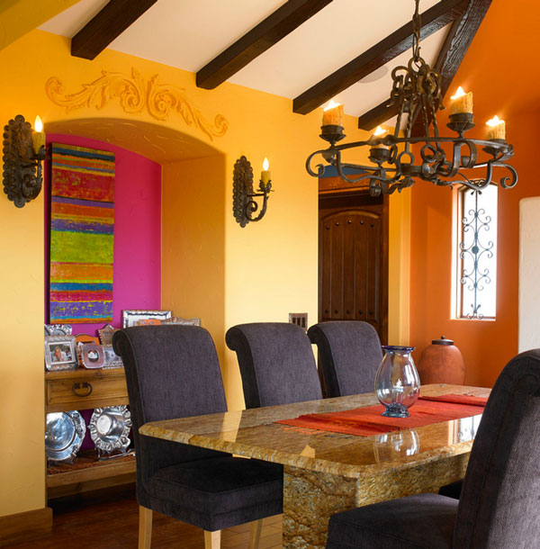 Beautiful decor ideas from latin america for American house interior decoration