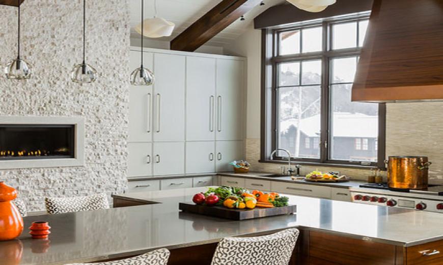 Industrial Steel Tables Take On Modern Elegance