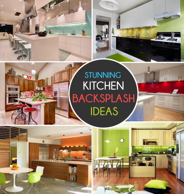 Kitchen Colors Color Schemes And Designs: Kitchen Backsplash Ideas: A Splattering Of The Most