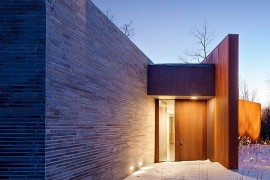 Striking Exterior And Sustainable Design Shape The House In The Woods