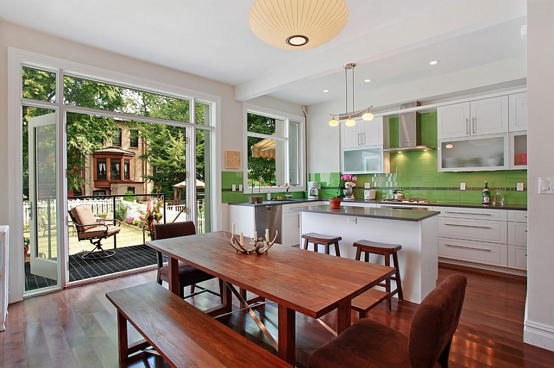 A kitchen design that is classic and timeless