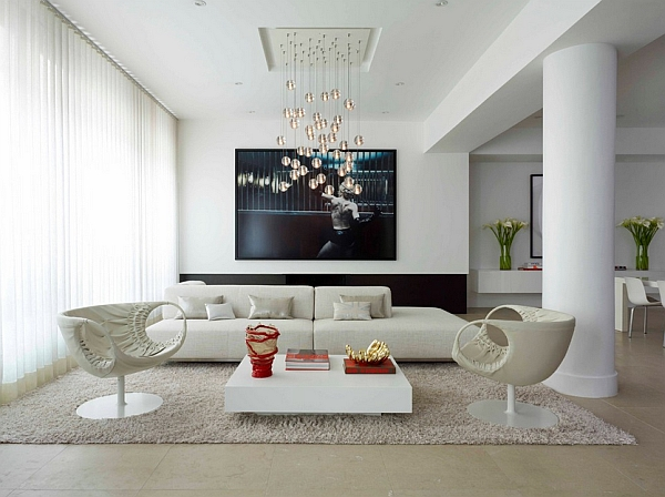 A living room that exudes comfort and class!