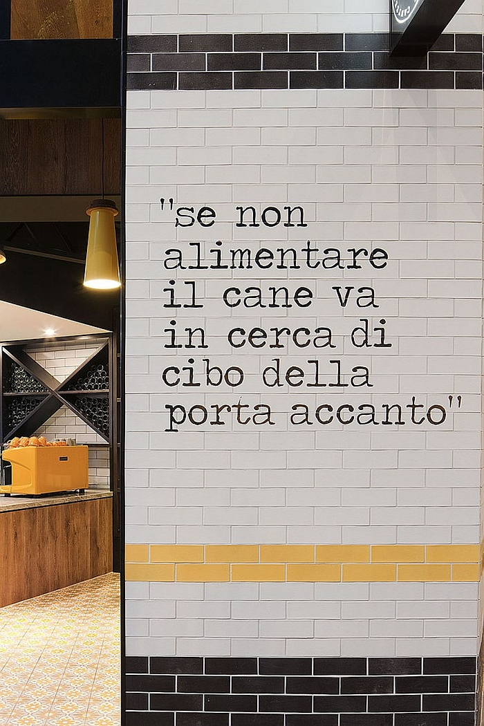 A message from the master of Italian delicacies