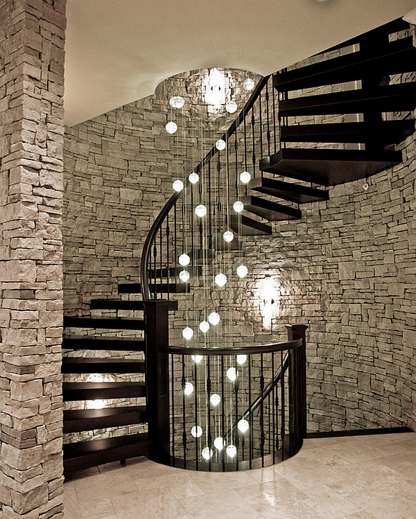 An Ideal Lighting Option For The Contemporary Spiral