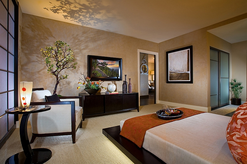 Asian inspired bedrooms design ideas pictures for Asian inspired living room designs