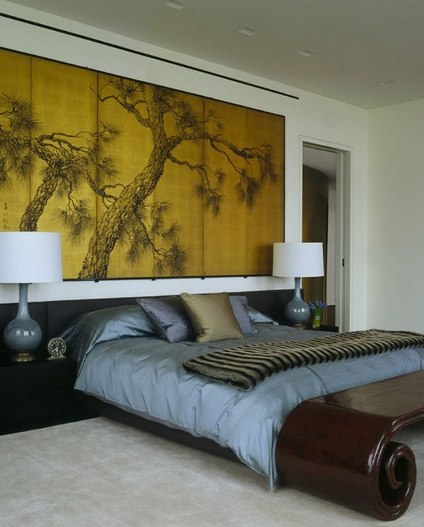 Asian theme wall art for modern homes
