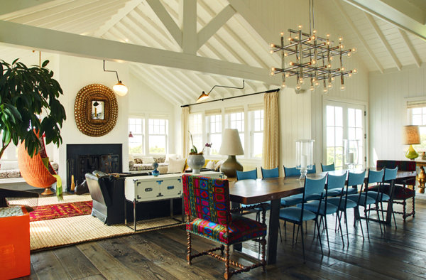 Beach house designed by Jonathan Adler