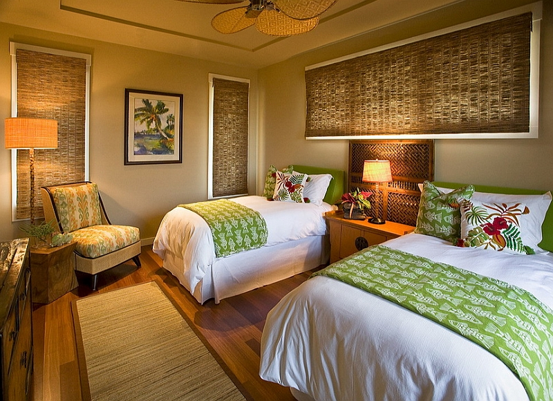 Beautiful Hawaiian Cottage Style Bedroom