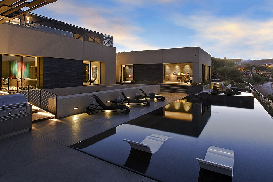 Marvelous View In Gallery Beautiful Deck Space Imitates The Desert Oasis
