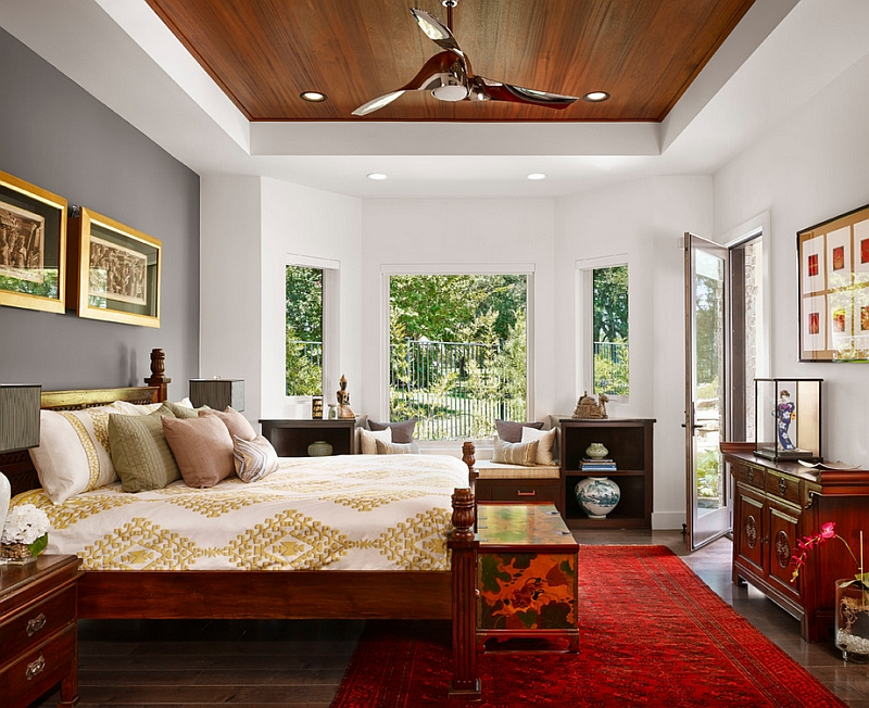 Asian inspired bedrooms design ideas pictures for House beautiful bedroom decor
