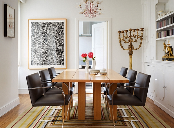 Beautiful dining table in wood How To Choose The Perfect Dining Table For Your Home