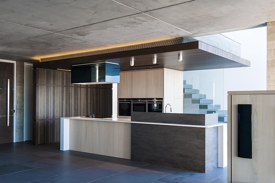 Beautiful kitchen with sleek design