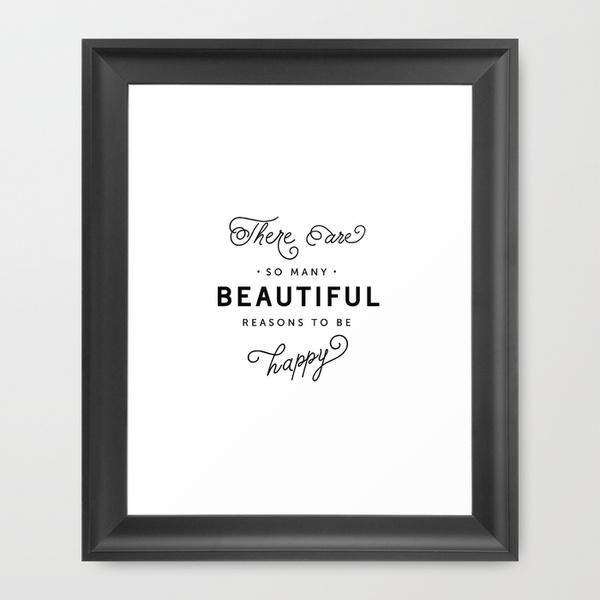 Beautiful things print