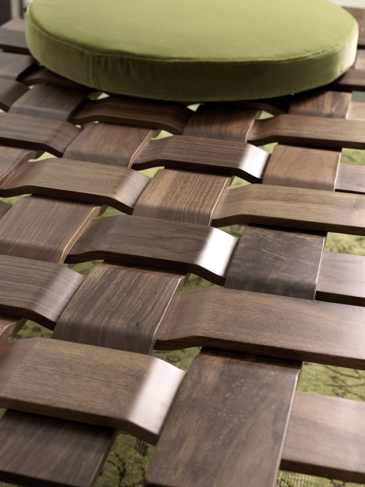 Comfy contemporary benches for the posh for Beautiful wooden benches